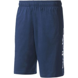 Vêtements Homme Shorts / Bermudas Adidas Athletics Short Essentials Linear Bleu Foncé / Blanc