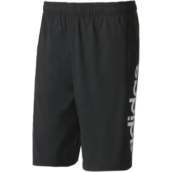 Vêtements Homme Shorts / Bermudas Adidas Athletics Short Essentials Linear Noir / Blanc