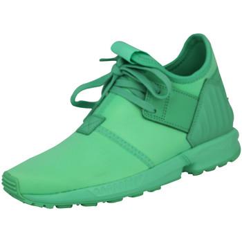 Chaussures Garçon Baskets basses adidas Originals Originals ZX FLUX PLUS K Chaussures Mode Sneakers Enfant Vert vert