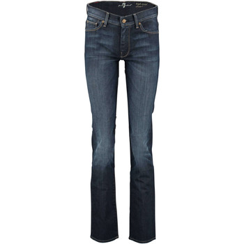 Vêtements Femme Jeans droit 7 for all Mankind Jeans Hw Straight Leg  Brut Bleu