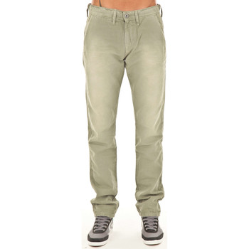 Vêtements Homme Pantalons Meltin'pot Pantalon Chino Mp006   Kaki Vert