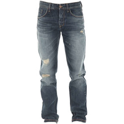Vêtements Homme Jeans droit Meltin'pot Jeans Mp009 Boyfriend Slim Bleu Bleu