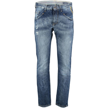 Vêtements Homme Jeans slim Meltin'pot Jeans Mp005  Bleu Use Bleu