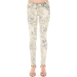 Vêtements Femme Jeans slim Current Elliott Jeans The Ankle Current Elliot Savane Beige