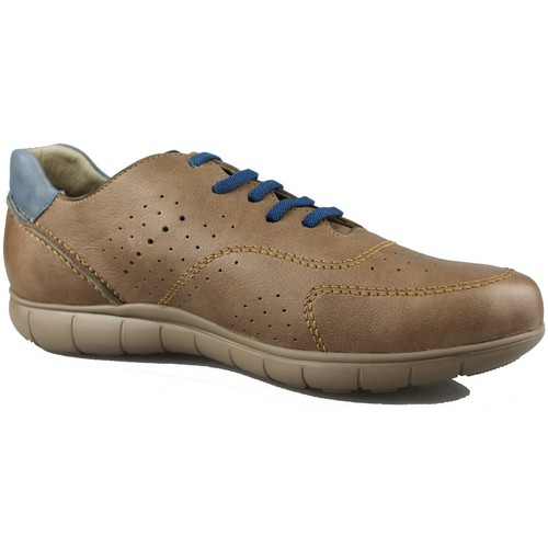 Chaussures Homme Baskets basses CallagHan WILD HORSE TAUPE