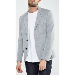 Vêtements Homme Vestes de costume Selected Blazer Henley  Gris Gris