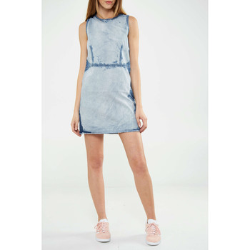 Vêtements Femme Robes Cheap Monday Robe  Idol Delave Femme Bleu