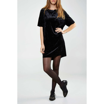 Vêtements Femme Robes Cheap Monday Robe  Crushed Noir Femme Noir