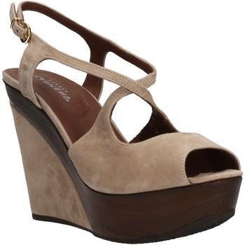 Chaussures Femme Sandales et Nu-pieds Carmens Padova chaussures femme  sandales beige daim AF500 beige