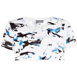 Vêtements Homme T-shirts manches courtes Guess T-Shirt Homme Featured Blanc 1