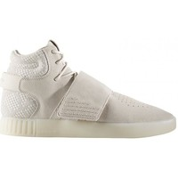 Chaussures Homme Baskets mode adidas Originals TUBULAR INVADER STRAP / BEIGE Beige