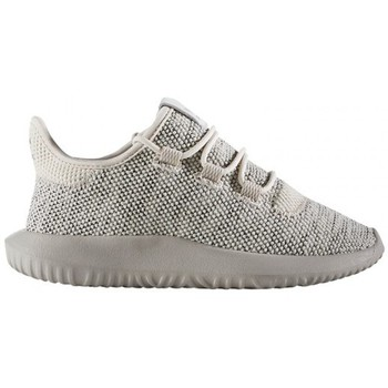 Chaussures Enfant Running / trail adidas Originals TUBULAR SHADOW C / BEIGE Beige