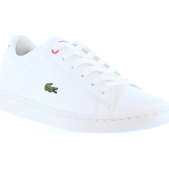 Chaussures Enfant Baskets mode Lacoste 33SPC1003 CARNABY Blanco