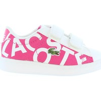 Chaussures Enfant Baskets mode Lacoste 33SPI1000 CARNABY Rosa