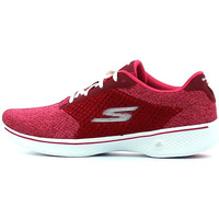 Chaussures Femme Baskets basses Skechers Go Walk 4 Exceed Raspberry