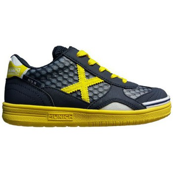 Chaussures Homme Baskets basses Munich Fashion G3.5 KID-FEEL NEGRO/AMARILLO