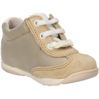 Chaussures Garçon Baskets mode Balducci sneakers beige textile daim AF694 beige