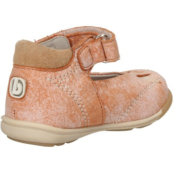 Chaussures Fille Ballerines / babies Balducci ballerines orange cuir daim AF709 orange