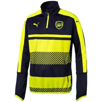 Vêtements Enfant Vestes de survêtement Puma Training Top junior Arsenal FC 2016/2017 bleu nuit/jaune fluo