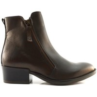 Chaussures Femme Boots Manas LEON Marron