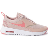 Chaussures Femme Baskets basses Nike Air Max Thea Whe Blanc/Rose