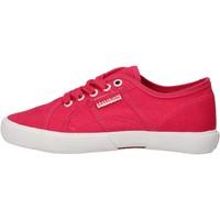 Chaussures Garçon Baskets basses Everlast chaussures garçon  sneakers rose toile AF826 rose
