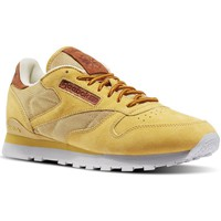 Chaussures Homme Baskets basses Reebok Sport CL Leather OL Blanc-Marron-Miel