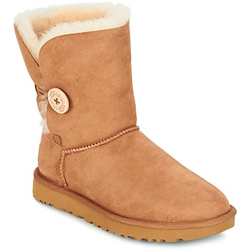 Chaussures Femme Boots UGG BAILEY BUTTON II Marron