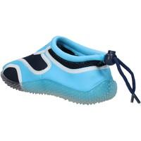Chaussures Garçon Baskets mode Everlast chaussures garçon  sneakers bleu textile celeste caoutchouc AF85 multicolor