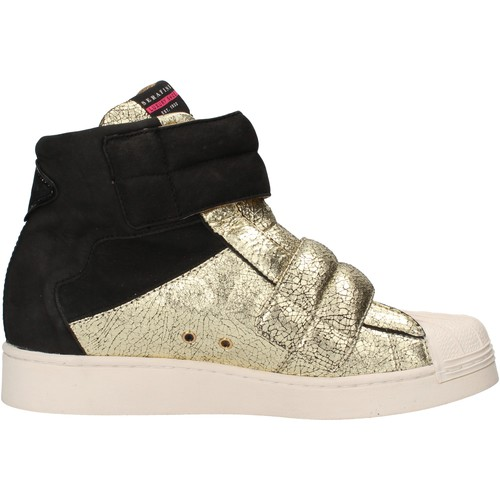 Chaussures Femme Baskets mode Serafini chaussures femme  sneakers noir cuir scamosciata or cuir caoutch multicolor