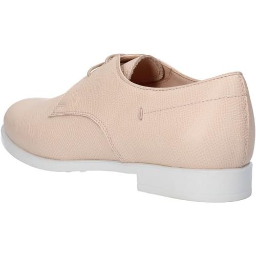 Chaussures Femme Ville basse Tod's chaussures femme  élégantes rose cuir AF909 rose