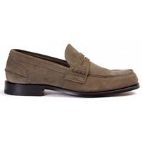 Chaussures Homme Mocassins Church's Mocassino Pembrey in camoscio Brun