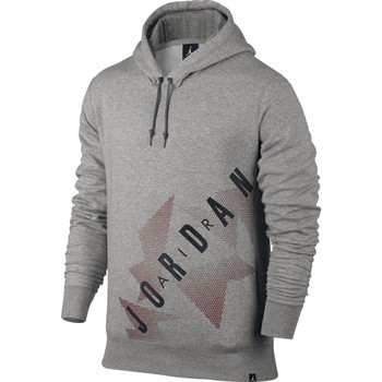 Vêtements Homme Sweats Air Jordan - Sweat-shirt à capuche - AJ6  - 833922 Gris