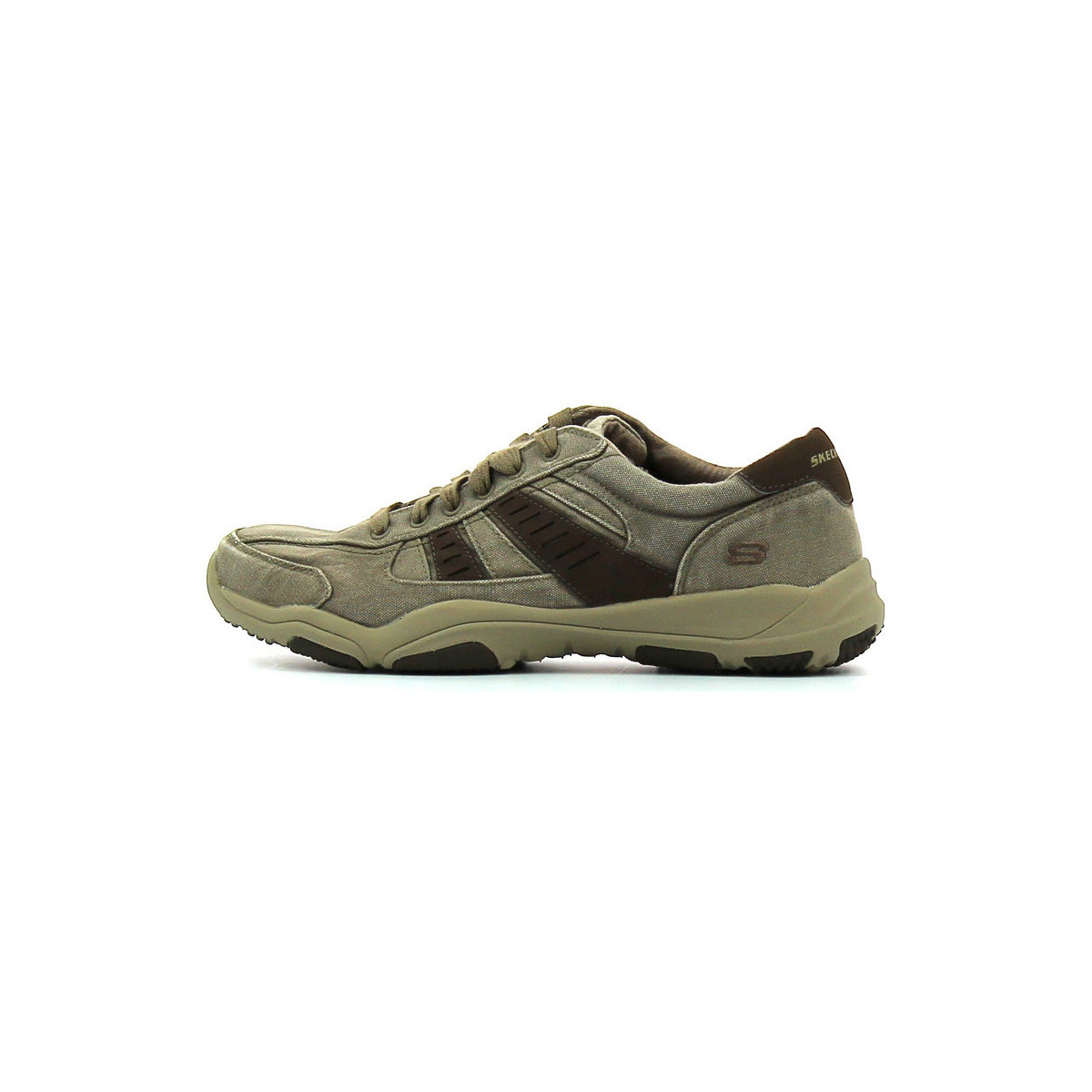 Skechers Larson Masson Taupe - Chaussures Chaussure-Ville Homme