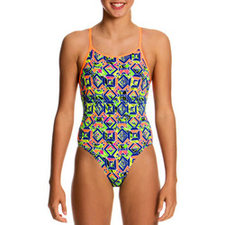 Vêtements Fille Maillots de bain 1 pièce Funkita Diamonds Back One Piece Clockwork orange
