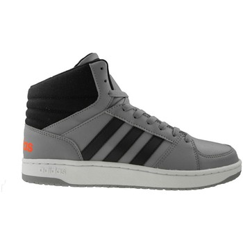 Chaussures Homme Baskets montantes adidas Originals VS Hoops Mid Noir-Orange-Gris