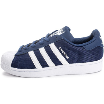 Chaussures Enfant Baskets basses adidas Originals Superstar Nylon Enfant Bleu