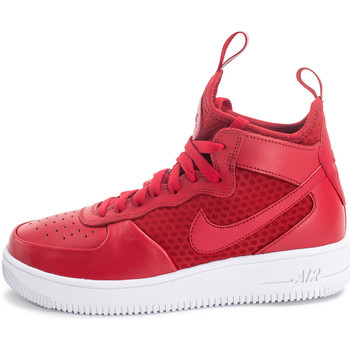 Chaussures Homme Baskets montantes Nike Air Force 1 Ultraforce Mid Rouge