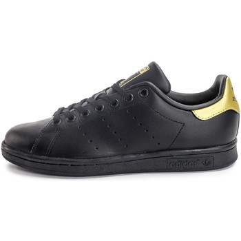 Chaussures Enfant Baskets basses adidas Originals Stan Smith EnfantOr Noir/Or