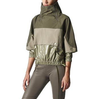 Vêtements Femme Coupes vent adidas Originals Run Rain Jacket Vert