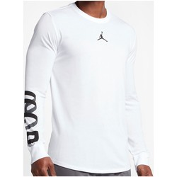 Vêtements Homme T-shirts manches courtes Air Jordan - T-Shirt Manches Longues -  Air Up - 883877 Blanc