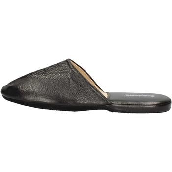 Chaussures Homme Mules Calpierre CALPIERRE  PP10-P Pantoufle Homme Noir Noir