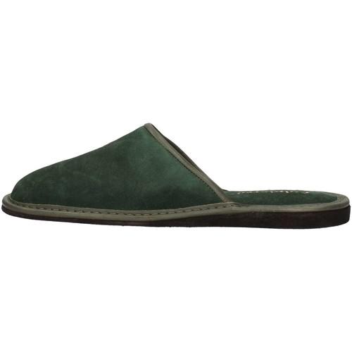 Chaussures Homme Mules Calpierre CALPIERRE  PP1-P Pantoufle Homme Vert Vert