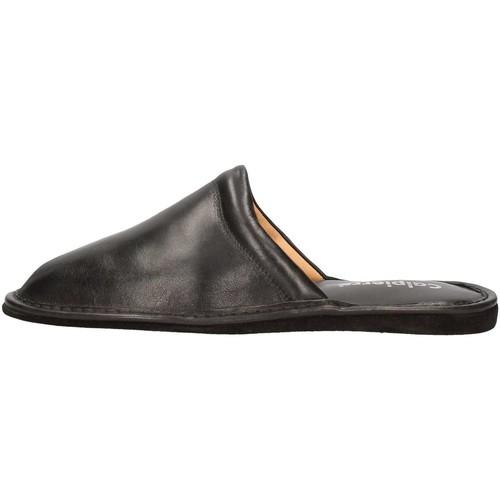 Chaussures Homme Mules Calpierre CALPIERRE  PP2 Pantoufle Homme Noir Noir