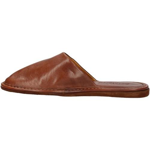 Chaussures Homme Mules Calpierre CALPIERRE  PP30-P Pantoufle Homme Brun Brun