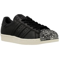 Chaussures Femme Baskets basses adidas Originals Superstar 80S 3D MT W Argent-Noir