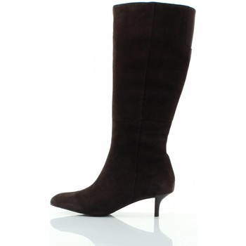 Chaussures Femme Bottes Rockport Lilah High Zip Boot Marron