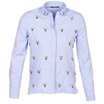 Vêtements Femme Chemises / Chemisiers Kookaï MAYA Bleu