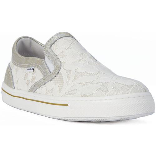 Chaussures Fille Slip ons Nero Giardini NERO GIARDINI  BAROCO IVORY Grigio