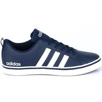 Chaussures Homme Baskets basses adidas Originals VS Pace Blanc,Bleu marine